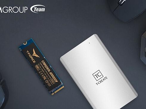 十铨T-Create Classic与Z44L移动SSD